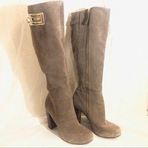 Nine West Tan Suede Boots